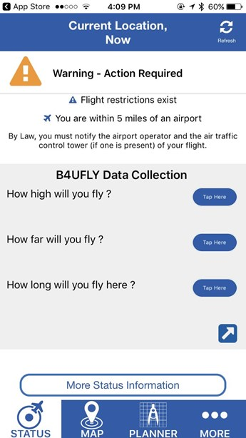 B4UFLY App